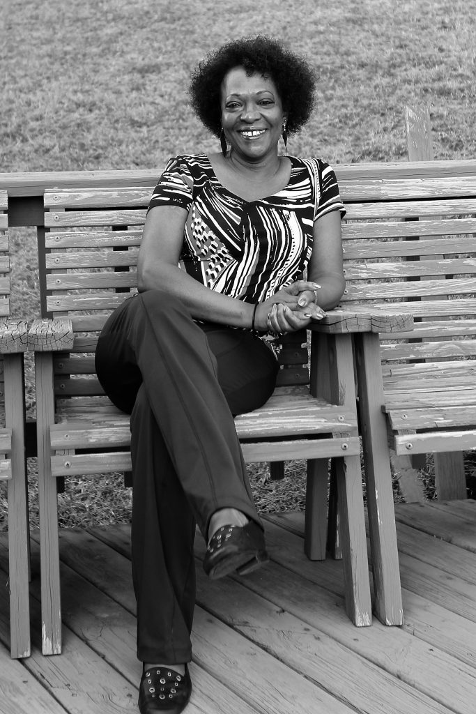 Rita Dove at home in Charlottesville, Virginia. Photo by William Walsh.