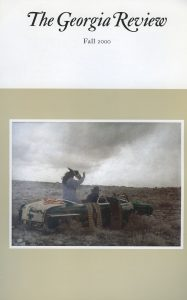 Cover of Fall 2000