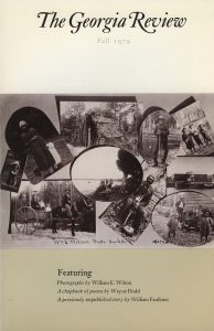 Cover of Fall 1979