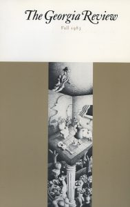 Cover of Fall 1983