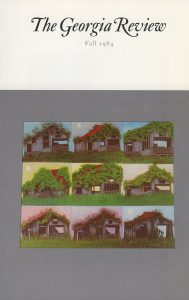 Cover of Fall 1984