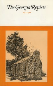 Cover of Fall 1988