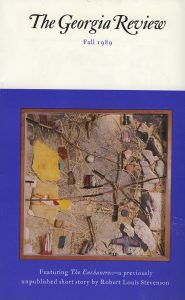 Cover of Fall 1989