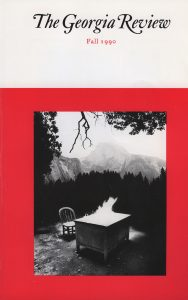 Cover of Fall 1990