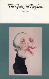 Cover of Fall 1991