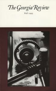 Cover of Fall 1993