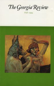 Cover of Fall 1994