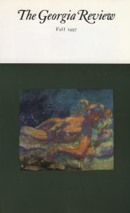 Cover of Fall 1997