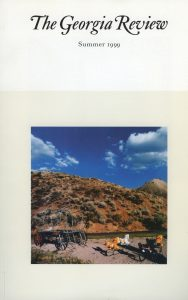 Cover of Summer 1999