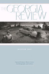 Cover of Winter 2007