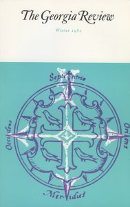 Cover of Winter 1982