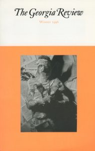 Cover of Winter 1996