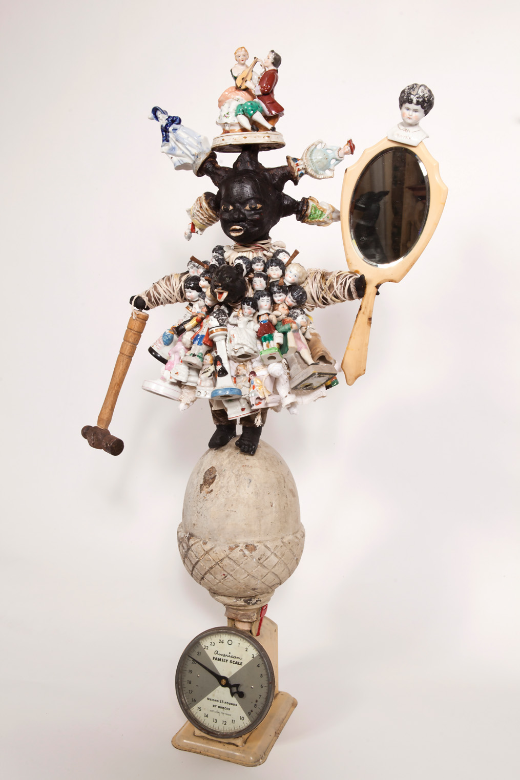 <i>American Family Scale #7: The Hammer Series </i>(2013), 42 × 22 1/2 × 11 in.