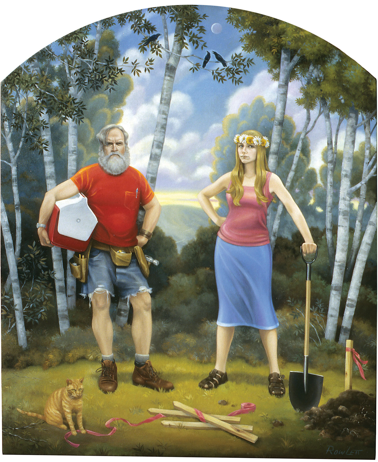 <i>Breaking Ground</i> (2006), 45˝ × 37˝