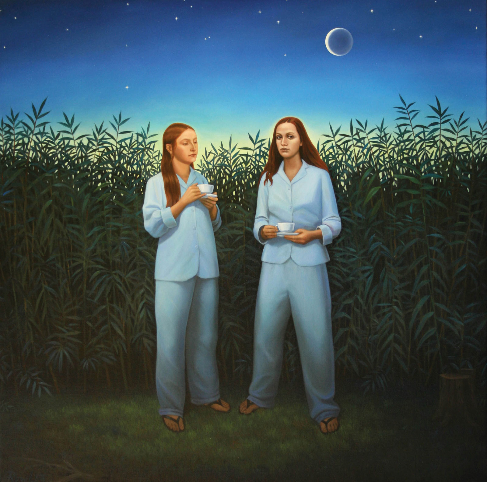 <i>Night Watch</i> (2008), 39˝ × 39˝