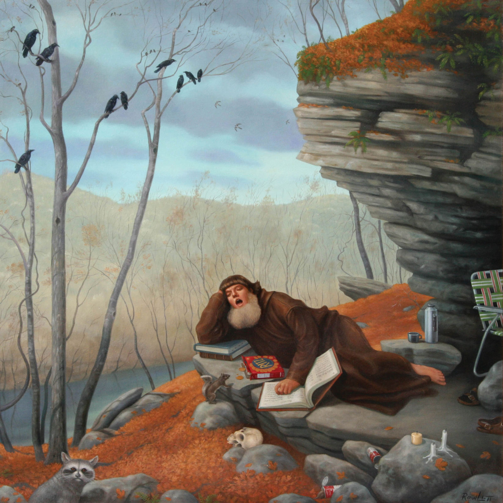 <i>The Ecstasy of Saint Bernard</i> (2002), 48˝ × 48˝